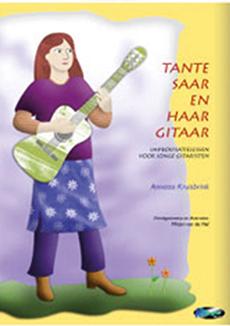 Gitaar album Tante Saar en haar Gitaar